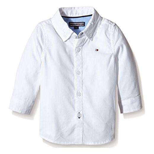1212b7a61a795 Koszula Tommy Hilfiger OXFORD BABY SHIRT L/S dla dzieci, kolor: biały,