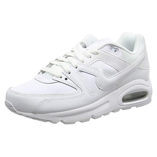 pretty nice d52ab 781eb Buty sportowe Nike Air Max Command Leather dla mężczyzn, kolor: biały,  rozmiar: