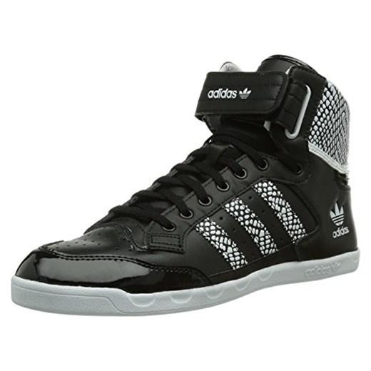 Gdzie mogę kupić świeże style niesamowity wybór Buty sportowe za kostkę adidas Originals Centenia Hi dla kobiet, kolor:  czarny, rozmiar: 43 1/3 EU (9 ) czarny Amazon