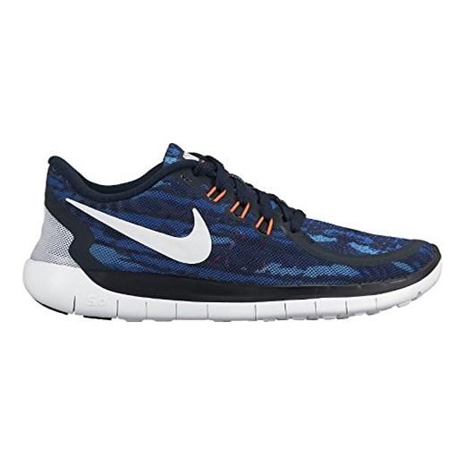 d57eb221 Buty sportowe Nike dla dziewczynek, kolor: wielokolorowy, rozmiar: 36 EU  Nike granatowy