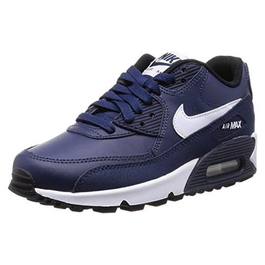 urok kosztów specjalne wyprzedaże wylot online Buty sportowe Nike dla chłopców, kolor: niebieski, rozmiar: 36 EU granatowy  Amazon