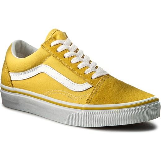 vans era żółte