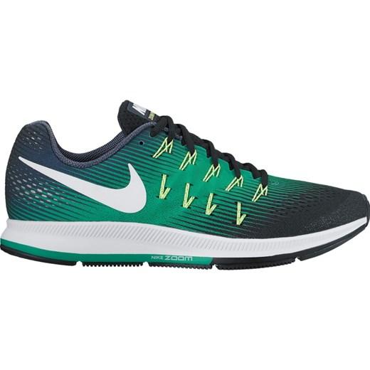 2fef5f6a Nike Air Zoom Pegasus 33 But do biegania Mężczyźni zielony/czarny Buty  Barefoot i buty ...