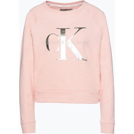 628b1567038 Calvin Klein Jeans - Damska bluza nierozpinana, różowy Van Graaf vangraaf