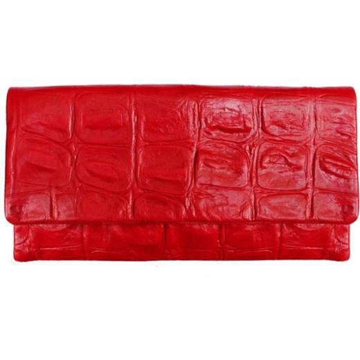 aed865d73eab8 Kopertówka Czerwona Krokodyl Etui Bags Com W Domodi