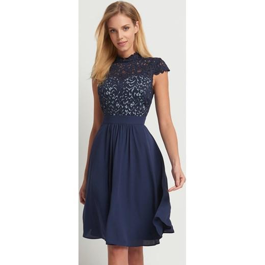 ebd4fe4884 ... Rozkloszowana sukienka z koronką Orsay 42 orsay.com ...