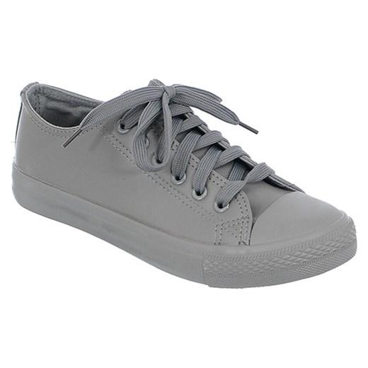 92f7aef567f11 SZARE TRAMPKI szary Family Shoes w Domodi