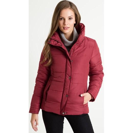 e1e70f4df8a2f ... Pikowana kurtka ze stójką : Rozmiar - 38, Kolor - B16RERUM czerwony 38  promocyjna cena ...
