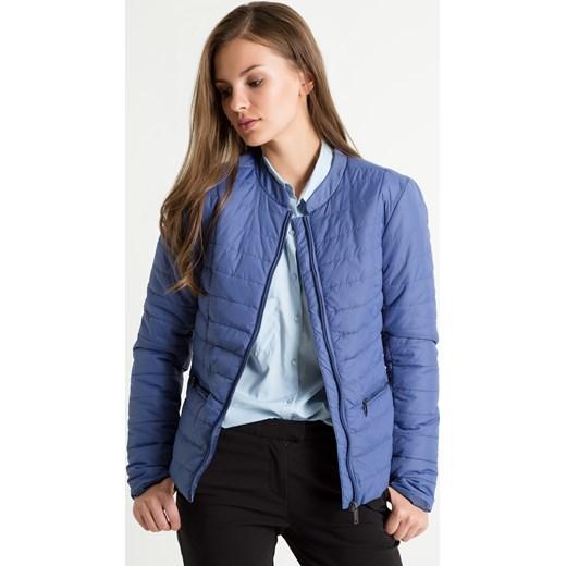 3a9577d2dada5 Pikowana kurtka ze stójką : Rozmiar - 36, Kolor - B16BLDEN niebieski 38  Greenpoint.