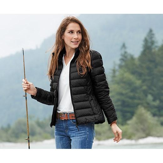 kurtki zimowe damskie pikowane krótkie