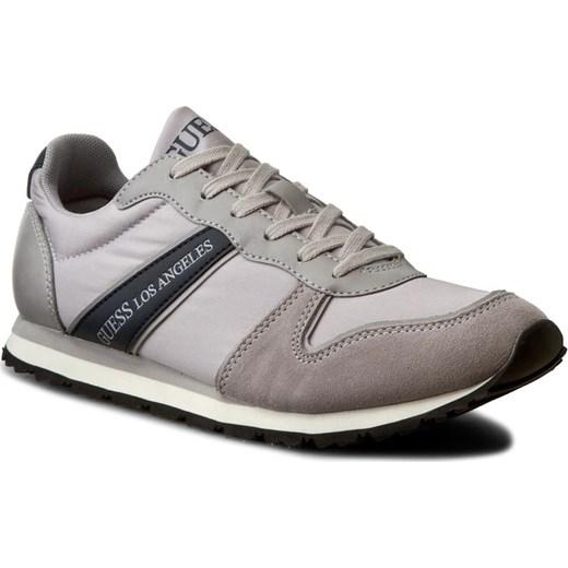 f5607cae6fc8a Sneakersy GUESS - Justin FMJUS1 FAB12 GREY szary eobuwie.pl w Domodi