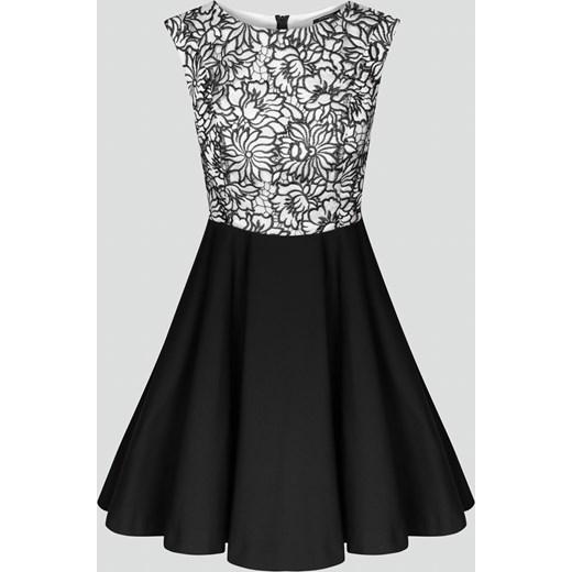 41d2d338dd Rozkloszowana sukienka z koronką Orsay orsay.com w Domodi