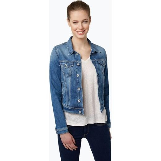7e9e16a50df25 Pepe Jeans - Damska kurtka jeansowa, niebieski Van Graaf niebieski XL  vangraaf