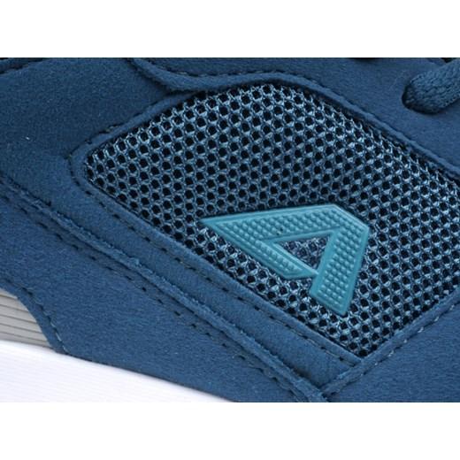 83040595 ... Półbuty sportowe młodzieżowe American Club 4594-4 blue/navy niebieski American  Club 36 Aligoo