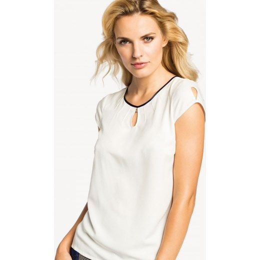 9d6bb73520 Elegancka bluzka POTIS   VERSO ROZALI zolty Potis verso 36 Eye For Fashion  ...
