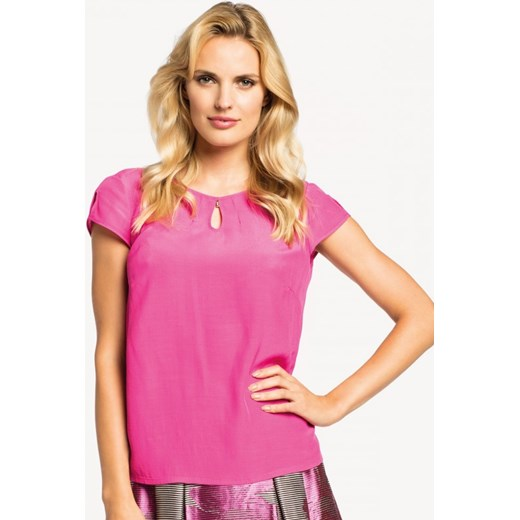 272f5082f8 Elegancka bluzka POTIS   VERSO ROZALI fioletowy Potis verso Eye For Fashion