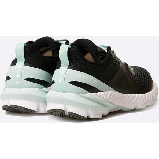 12a61ba8c85a1 ... Buty sportowe damskie Reebok do fitnessu sznurowane na koturnie w  geometryczne wzory ...