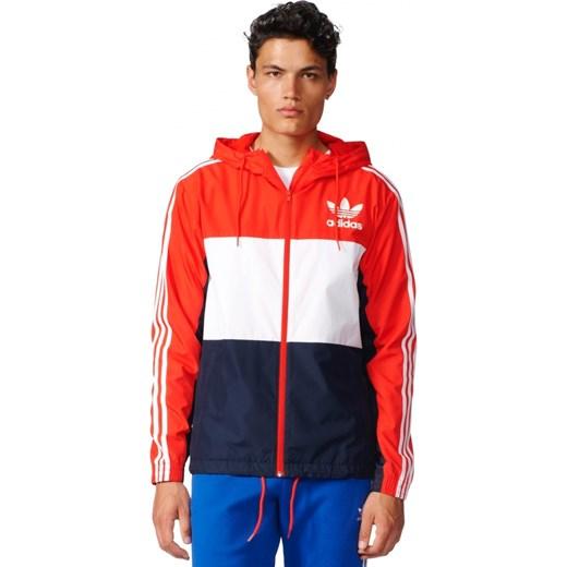 b07161cd2a375 Kurtka adidas Oiriginals CLFN Windbreaker - BK5939 Adidas Originals  czerwony UrbanGames