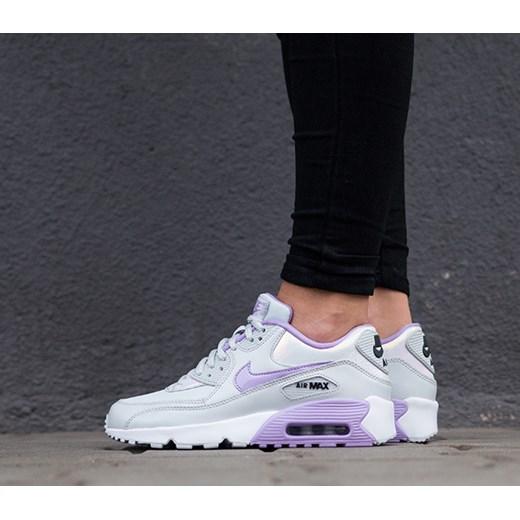 new styles 41b1d 5f1a1 Buty damskie sneakersy Nike Air Max 90 Se Ltr (GS) 859633 002 czarny Nike  ...