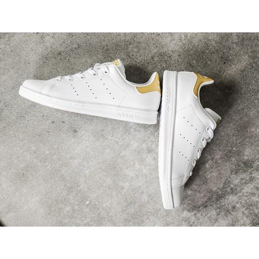 Buty dziecięce sneakersy adidas Originals Stan Smith C BB0215 szary sneakerstudio.pl