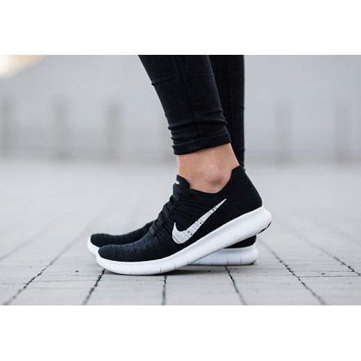 premium selection 75a72 76188 ... Buty damskie sneakersy Nike Free Run Flyknit 831070 001 czarny Nike 40  wyprzedaż sneakerstudio.pl ...