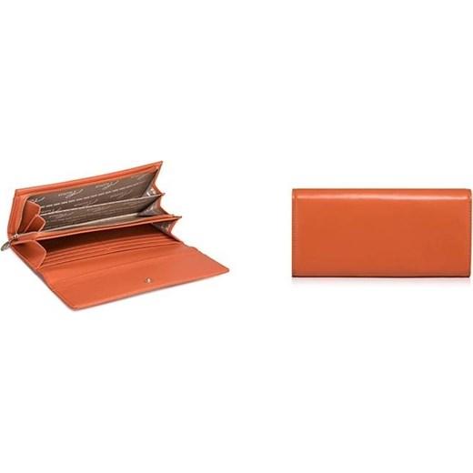 61e53086dd5b4 ... NUCELLE Stylowy damski portfel ze skóry Pomarańczowy brazowy Nucelle  uniw Tymoteo.pl - sklep obuwniczy ...