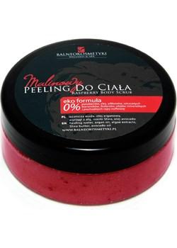 Malinowy Peeling do ciała czerwony Malinowe Hotele Sp. Z O.o. BALNEOKOSMETYKI - kod rabatowy