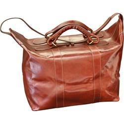 9494a5fdbd2f6 Brązowe walizki i torby podróżne włoskie torby podróżne ze skóry ...