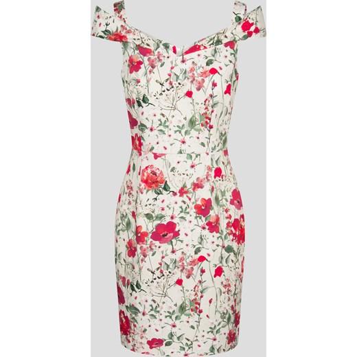 d25aadff40 Ołówkowa sukienka w kwiaty rozowy Orsay orsay.com w Domodi