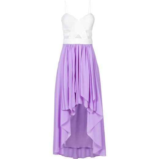 d2777e6042 Sukienka z dłuższym tyłem i dekoltem w kształcie serca fioletowy BODYFLIRT  bonprix