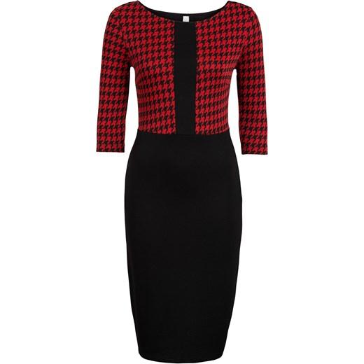 9dabda2225 Sukienka brazowy Bonprix Bodyflirt Boutique w Domodi