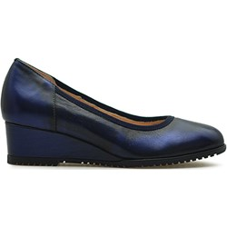 674574ff Granatowe buty damskie eksbut, lato 2019 w Domodi