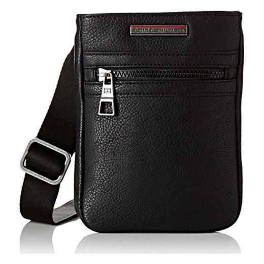 528a1aa601702 Torebka na ramię Tommy Hilfiger dla mężczyzn, kolor: czarny, rozmiar:  15x20x2 cm