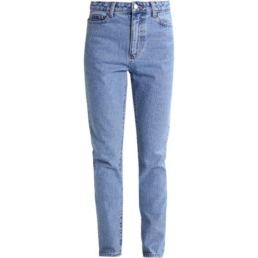 Vila VIBLOK  Jeansy Zwężane light blue denim Zalando
