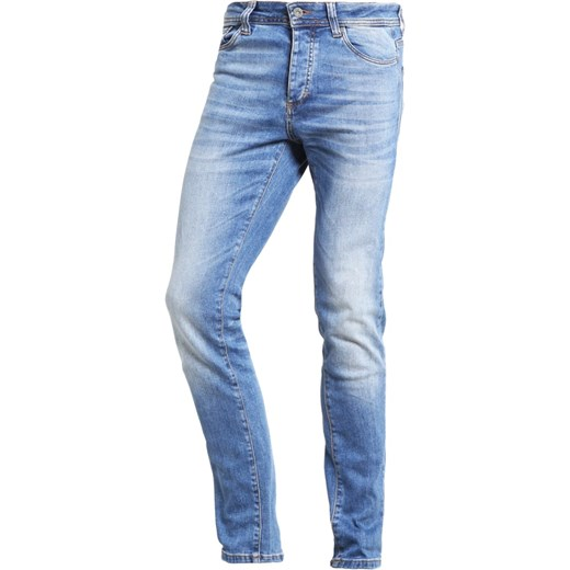 Pier One Jeansy Slim fit light blue  Zalando