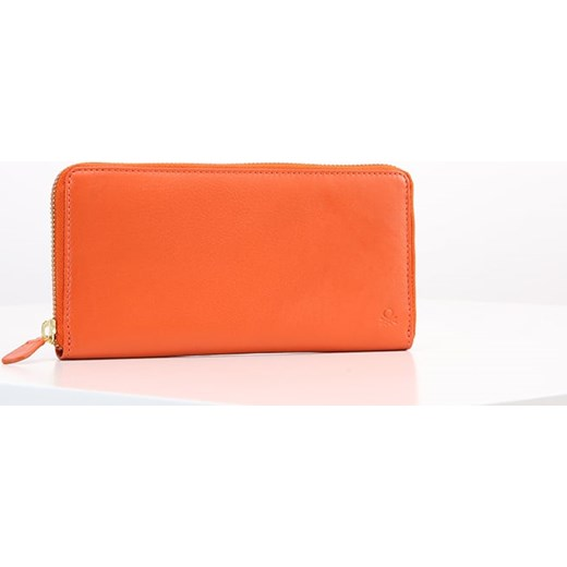 7f5fd9b28a6bb Benetton Portfel orange Zalando w Domodi
