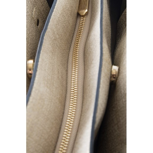 954a6884f457d ... Metaliczna torba shopper bezowy Orsay 00 orsay.com ...