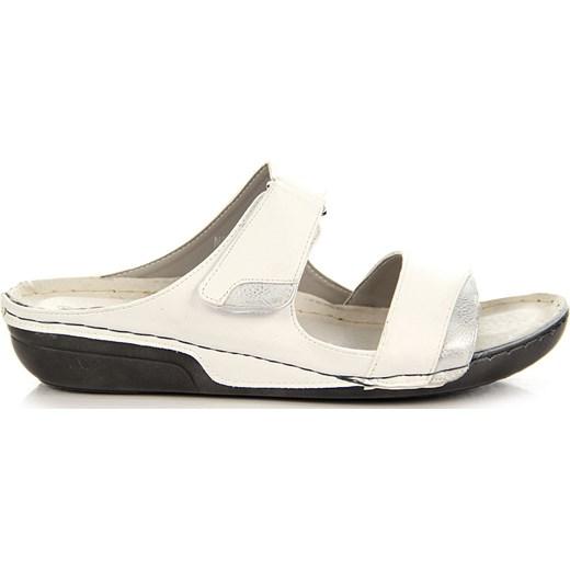 Białe sandały damskie komfortowe Jezzi ButyRaj.pl w Domodi