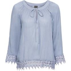 3db8ef7b0c4d Niebieskie bluzki oversize bodyflirt