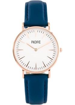 ZEGAREK DAMSKI PACIFIC CLOSE - komplet prezentowy (zy590p) - Niebieski    Różowe złoto granatowy Pacific TAYMA - kod rabatowy
