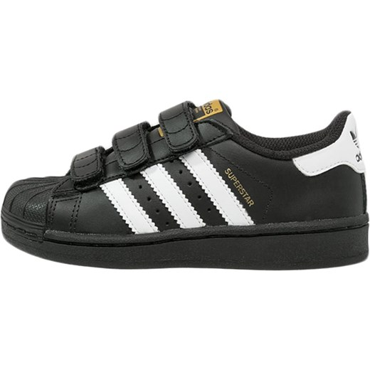 f201b58ca817 ... 7e1cd5d86992 adidas Originals SUPERSTAR FOUNDATION Tenisówki i Trampki  core black zalando czarny na rzepy ...