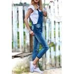 69dfae246e9fcb Spodnie jeansowe ogrodniczki GARDEN MAX niebieskie - zdjęcie produktu