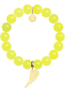 Bransoletka z żółtych, neonowych jadeitów S Caviallo bialy caviallo.eu - kod rabatowy