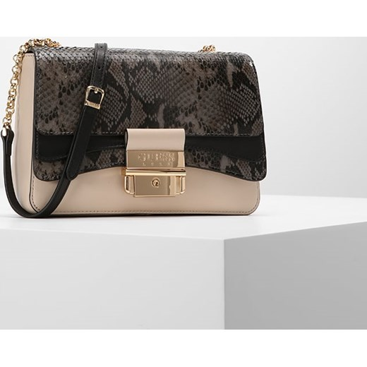 4a1d652374c7b ... Guess Luxe GINEVRA SMALL FLAP Torba na ramię black Guess Luxe bezowy  One Size Zalando