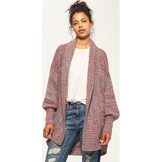 350e3104f79c7e Reserved - Sweter z kolorowej włóczki - Wielobarwn Reserved S ...