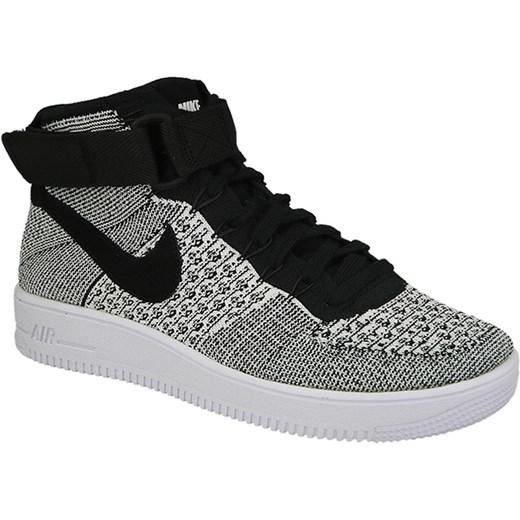 Buty męskie sneakersy Nike Air Force 1 Ultra Flyknit Mid 817420 005 sneakerstudio.pl