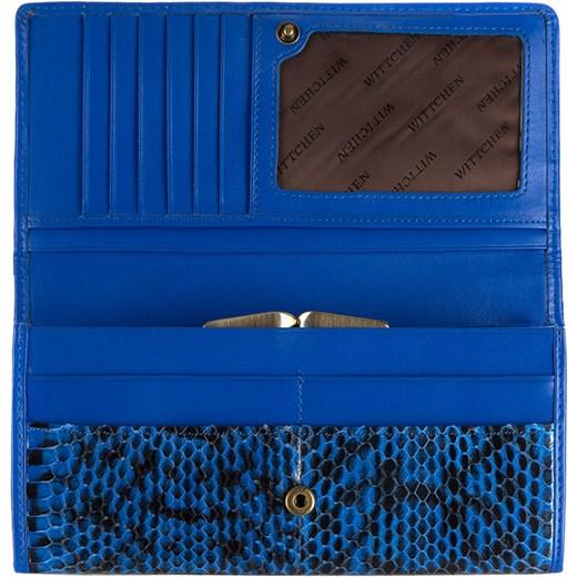57128f8585e2c ... niebieski damskie; 19-1-075-NN Portmonetka wittchen niebieski jesień ...