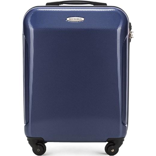 38f7cf01b78b6 56-3P-971-90 Walizka kabinowa Wittchen niebieski okazyjna cena w Domodi