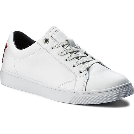 cf2f9e6f4833e Sneakersy TOMMY HILFIGER - Venus 19A1 FW0FW01946 White 100 Tommy Hilfiger  szary 40 eobuwie.pl