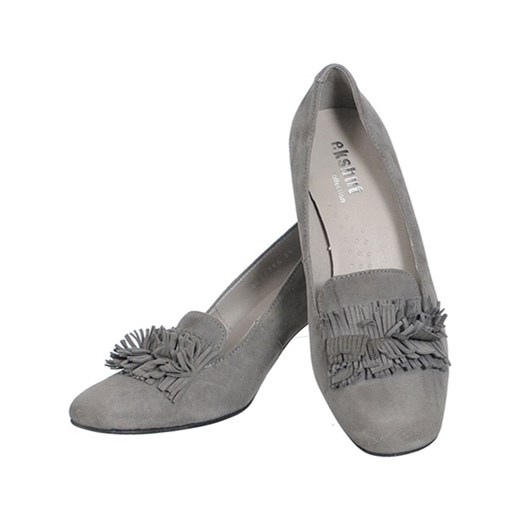 2f6de63c12dbd ... SKÓRZANE CZÓŁENKA SZARE szary Eksbut 40 Family Shoes ...